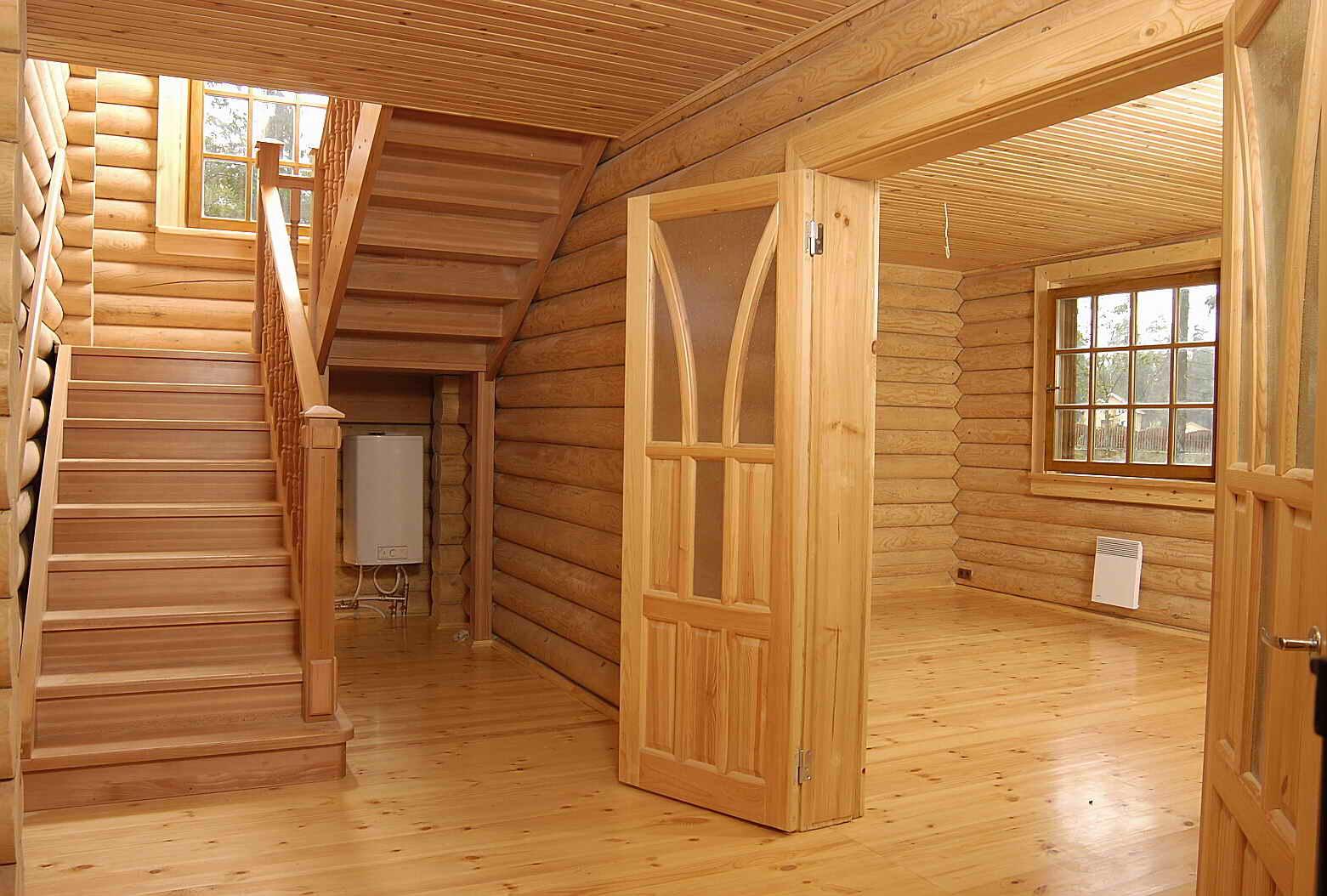 Деревянный дом отделка внутри своими руками